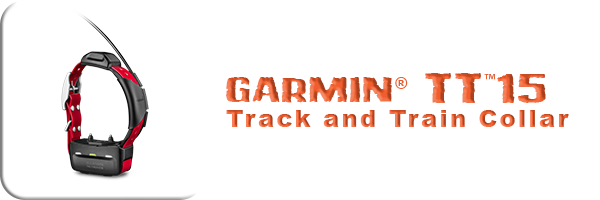 Garmin® TT™15 Track and Train Collar