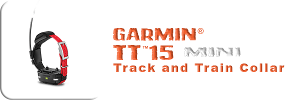 Garmin® TT™15 mini Track and Train Collar